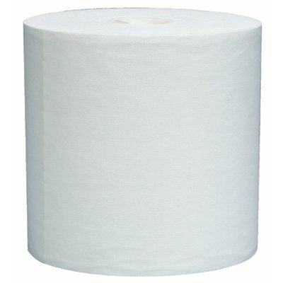 """Kimberly-Clark WypAll® L40 Wipers - 12""""x13.4"""" white wypall jumbo rag on a roll 700/"""