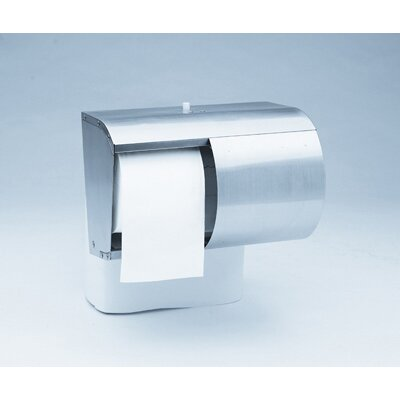 Kimberly-Clark Reflections Tissues Dispenser 2 Roll Coreless in Silver