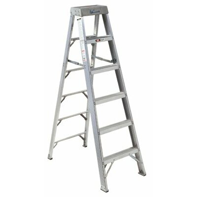 Louisville Ladder 3 ft Aluminum Master Step Ladder with 300 lb. Load Capacity