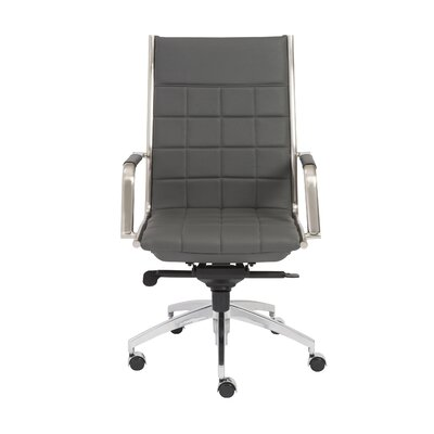Zander High Back Office Chair with Arms by Eurostyle