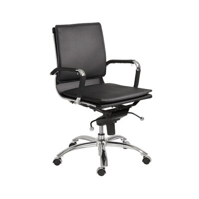 Gunar Pro Low-Back Adjustable Office Chair by Eurostyle
