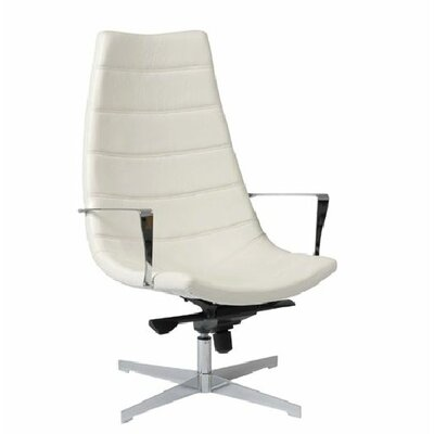 Domino Leatherette Lounge Chair by Eurostyle