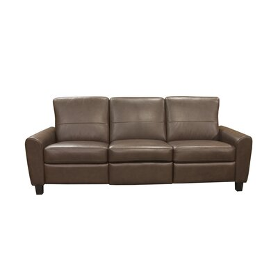 York Leather Reclining Sofa by Coja