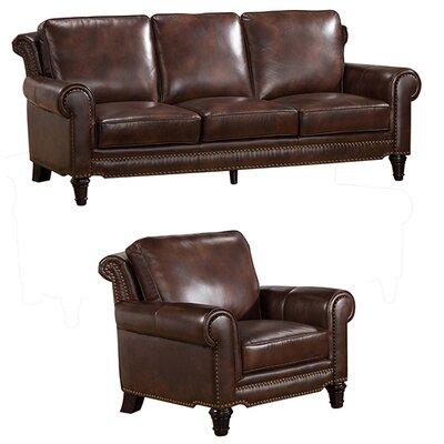 Coja Macy Top Grain Leather Sofa and Chair Set & Reviews