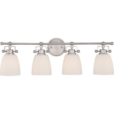 Bower 4 Light Bath Vanity Light Product Photo
