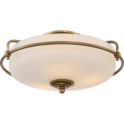 Griffin 3 Light Floating Flush Mount Product Photo