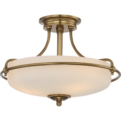 Griffin Griffin 4 Light Semi Flush Mount Product Photo