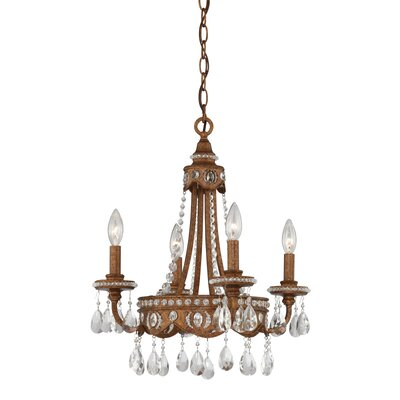 4 Light Chandelier Product Photo