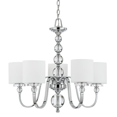 Downtown 5 Light Chandelier Product Photo