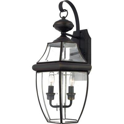 Quoizel Newbury 2 Light Wall Lantern
