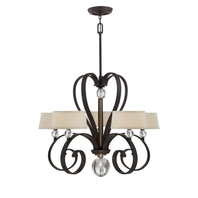 Uptown Madison Manor 5 Light Chandelier Product Photo