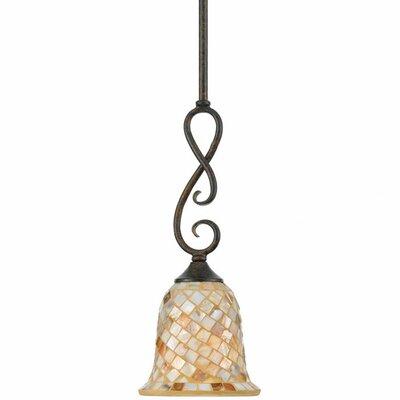 Monterey Mosaic 1 Light Piccolo Pendant Product Photo