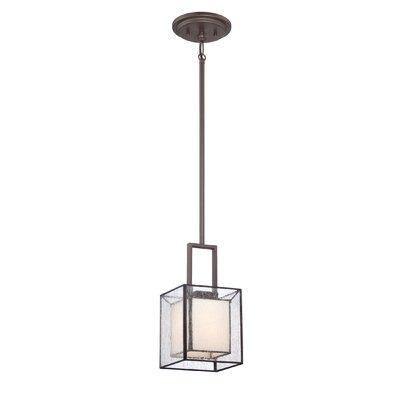 Ferndale 1 Light Mini Pendant by Quoizel