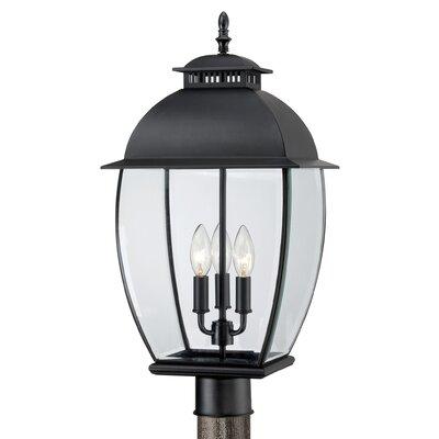Quoizel Bain 3 Light Outdoor Post Lantern