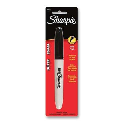 Sanford Permanent Marker,Fine Tip,Fade Proof,Black