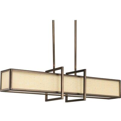 Progress Lighting Haven 4 Light Linear Pendant