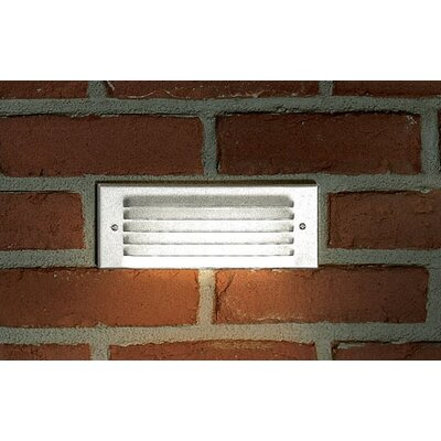 Progress Lighting White Indoor and Outdoor Recessed Step Light