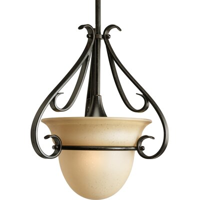 Torino 1 Light Stem-Hang Mini Pendant by Progress Lighting
