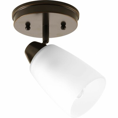Progress Lighting Wisten 1 Light Semi-Flush Mount