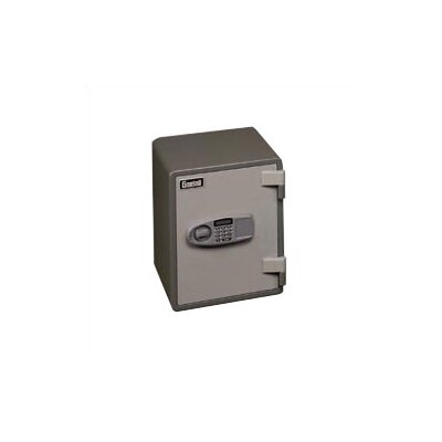 Gardall Safe Corporation Small One-Hour Fire Resistant Electronic Lock Record Safe 1.26 CuFt