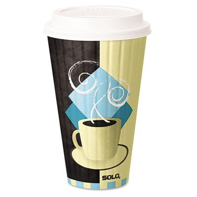 Solo Cups Company Duo Shield Hot Insulated , 350/Carton