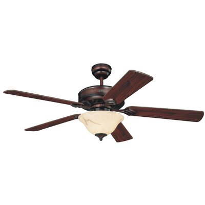 """52"""" Bethany 5 Reversible Blade Ceiling Fan Product Photo"""