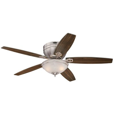 "52"" Carolina 5 Reversible Blade Ceiling Fan Product Photo"