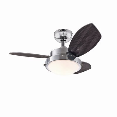 "Westinghouse Lighting 30"" Wengue 3 Blade Ceiling Fan"
