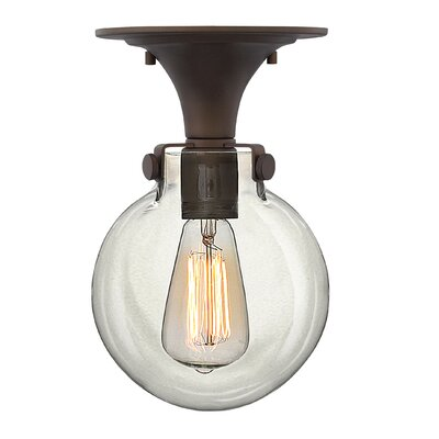 Congress 1 Light Foyer Flush Mount Product Photo