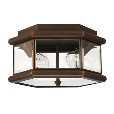 Clifton Park 2 Light Flush Mount Product Photo