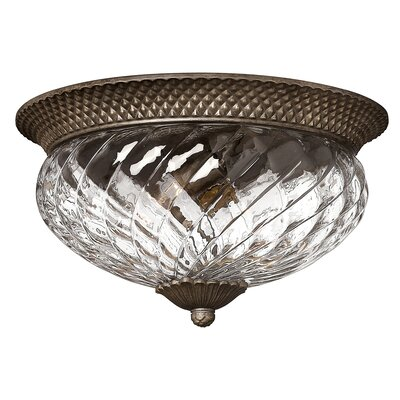 Plantation 3 Light Flush Mount Product Photo