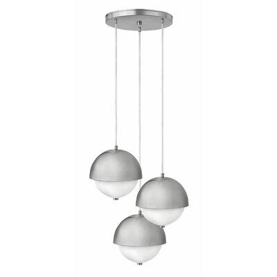 3 Light Globe Pendant by Hinkley Lighting