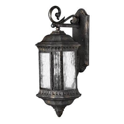 Hinkley Lighting Regal 3 Light Wall Lantern