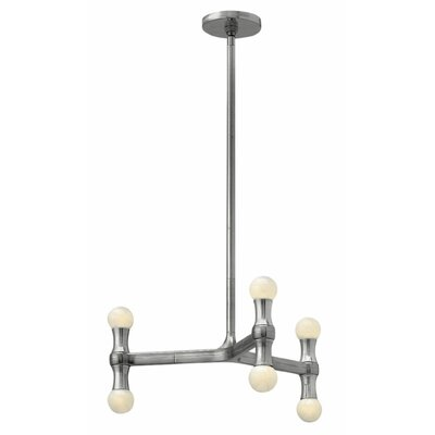 Karma 6 Light Chandelier by Hinkley Lighting