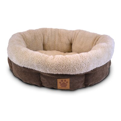 Precision Pet Products Natural Surroundings Shearling Dog Bed