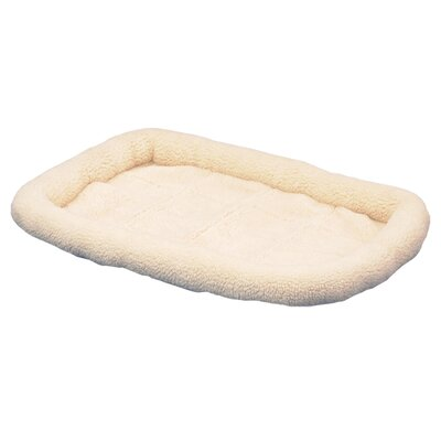 SnooZZy Original Fleece Crate Donut Dog Bed by Precision Pet