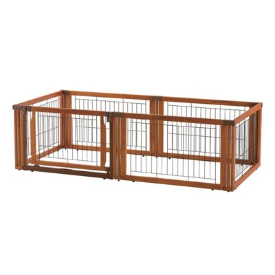 Convertible Elite 6-Panel Pet Gate by Richell