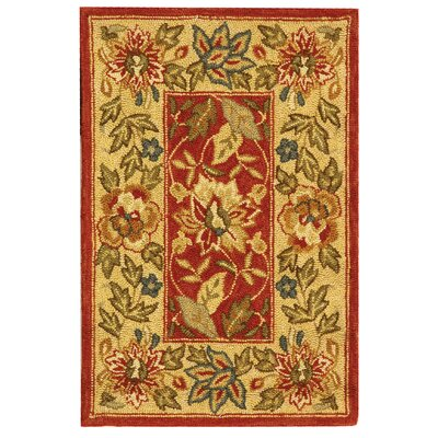 Safavieh Chelsea Red & Ivory Area Rug