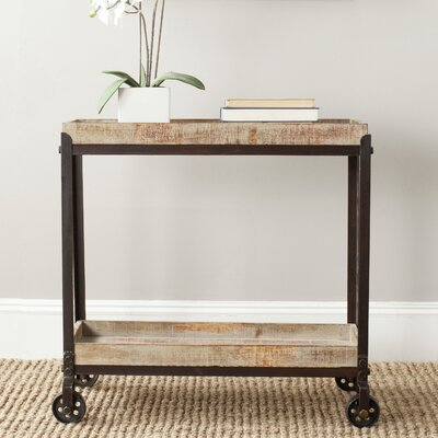 Sally Rolling Console Table by Safavieh