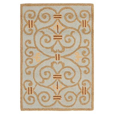 Safavieh Chelsea Light Blue / Brown Area Rug