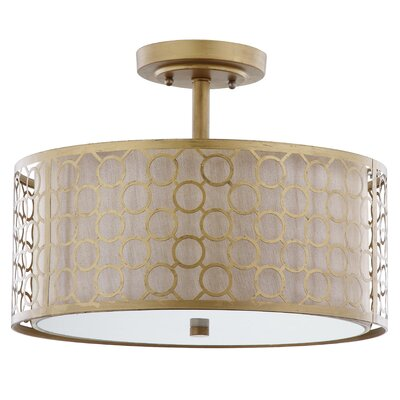Giotta 1 Light Semi Flush Mount Product Photo