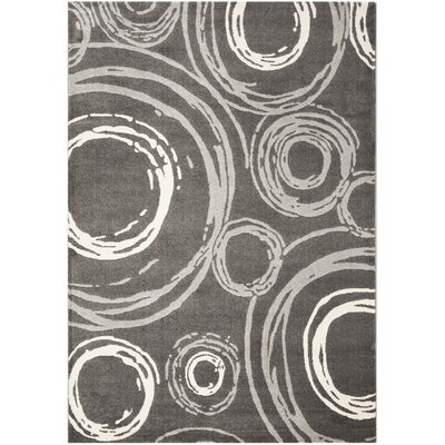 Porcello Dark Grey Area Rug by Safavieh