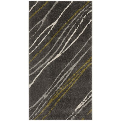 Porcello Dark Gray Area Rug by Safavieh