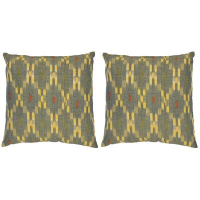 Taylor Cotton Throw Pillow by Safavieh