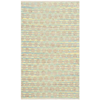 Cape Cod Teal / Natural Area Rug by Safavieh
