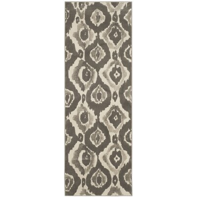 Porcello Ivory / Dark Grey Area Rug by Safavieh