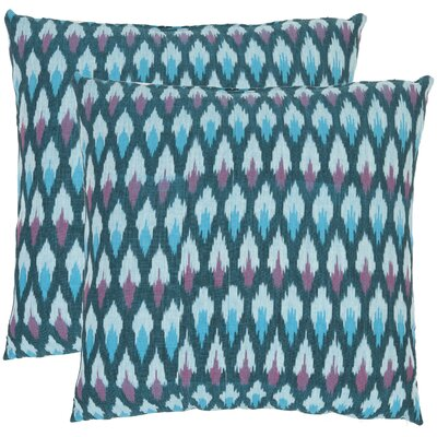 Safavieh Taylor Ikat Diamond Cotton Throw Pillow