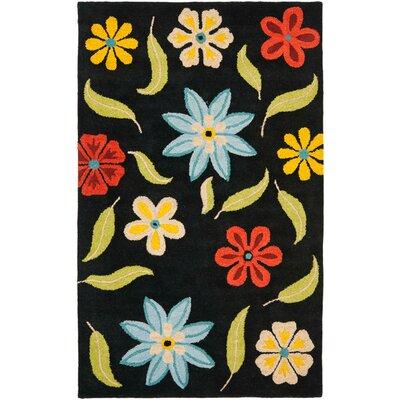 Safavieh Blossom Black Floral Area Rug