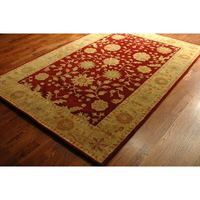 Safavieh Heritage Red/Gold Floral Area Rug