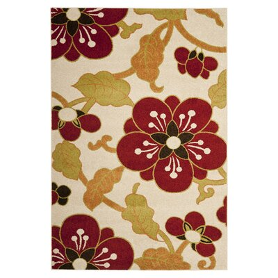 Safavieh Newport Ivory/Red Area Rug